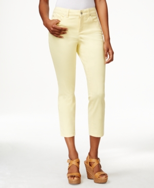 Charter Club Petite Cropped Colored Jeans  Only at Macy's