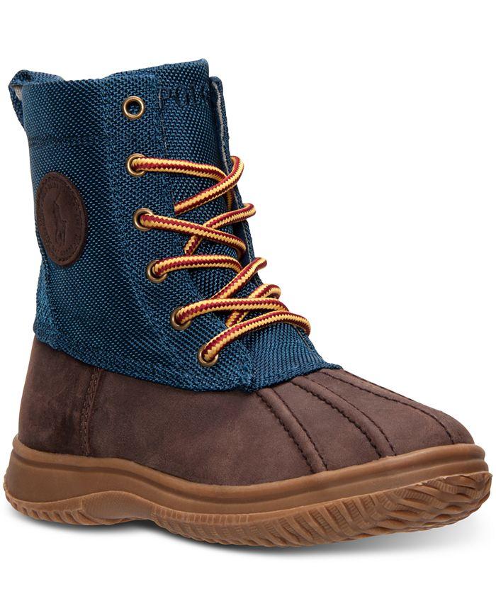 Polo Ralph Lauren - Girls' Duksbury Mid Boots from Finish Line