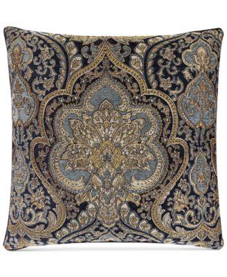 "J Queen New York Venezia 20"" Square Decorative Pillow"