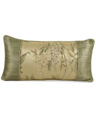 "Croscill Iris 22"" x 11"" Boudoir Decorative Pillow"