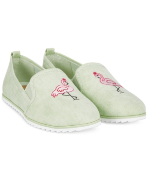 Bar Iii Opal Flamingo Slip-On Shoes, Only at Macy's Women's Shoes