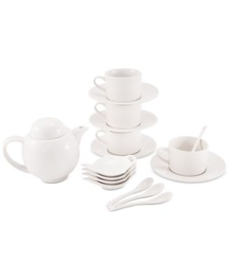 Maxwell & Williams Porcelain 19-Pc. Tea Set