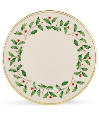 Lenox Dinnerware, Holiday Dinner Plate
