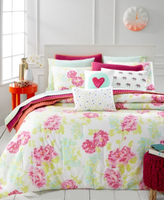 Whim by Martha Stewart Collection Pixel Perfect 5-Pc. Full/Queen Comforter Set, Only at Macy's
