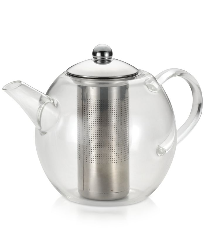 Bonjour - Glass Teapot with Shut-Off Infuser