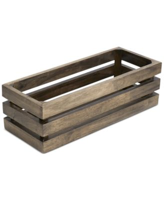 Paradigm Bath Accessories Driftwood Tank Tray