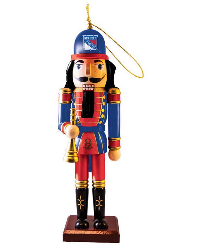 Memory Company - New York Rangers Nutcracker Ornament
