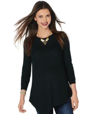 A Pea In The Pod Maternity Asymmetrical Sweater plus size,  plus size fashion plus size appare