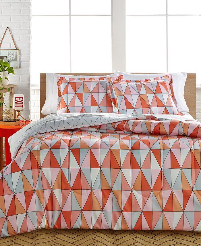 Ellison First Asia - Rikka 3-Piece Reversible Full/Queen Comforter Set