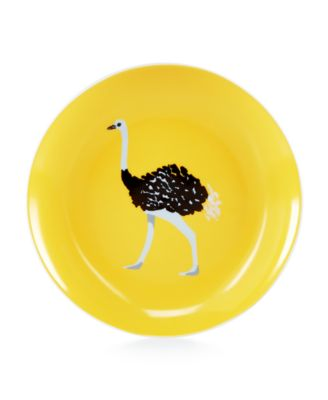 Martha Stewart Collection Whim Dinnerware Collection Ostrich Appetizer Plate, Only at Macy's