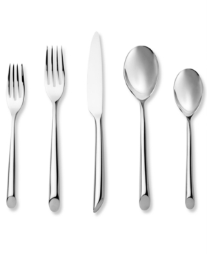 "Nambe ""Frond"" 5-Piece Place Setting"