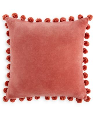 Home Design Studio Pom Pom Pillow, Only at Macy's