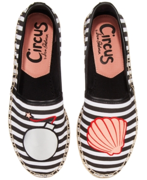 Circus By Sam Edelman Leni Bomb Shell Espadrille Flats Women's Shoes