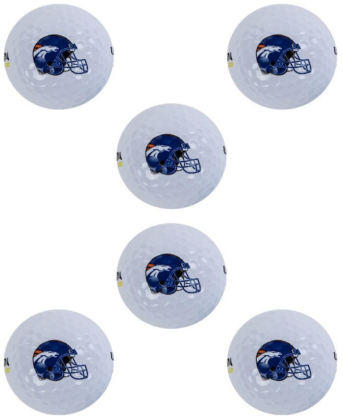 Wilson Sport - Denver Broncos 6-Pack Golf Ball Set