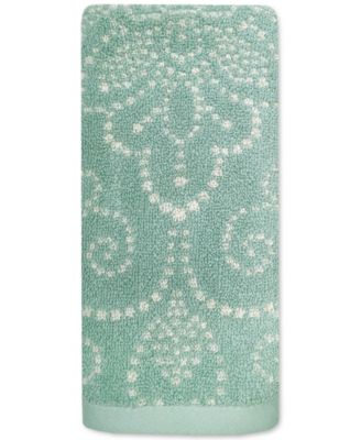 Lenox French Perle Groove Fingertip Towel