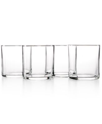 The Cellar Everyday Collection 4-Pc. Rika Double Old-Fashioned Glasses Set, Only at Macy's