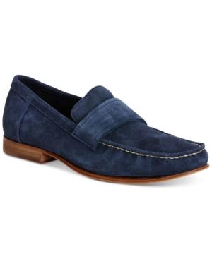 Calvin Klein Men's Baron Suede Loafers Men's Shoes