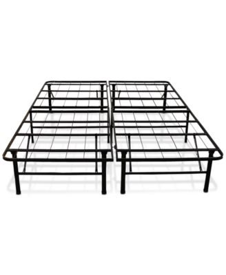 Sleep Trends Hercules Full 14-Inch Platform Metal Bed Frame & Mattress Box Spring, Direct Ship