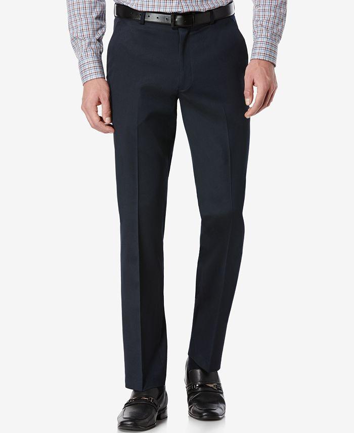 Perry Ellis Portfolio - Pant, Slim Fit Flat Front