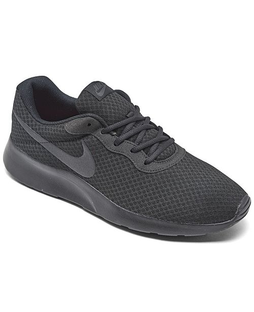 fuerte Pero capoc  Nike Men's Tanjun Casual Sneakers from Finish Line & Reviews - Finish Line  Athletic Shoes - Men - Macy's