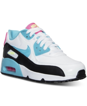 fa40a08bd765 ... UPC 820652655591 product image for Nike Girls  Air Max 90 Leather  Running Sneakers from Finish
