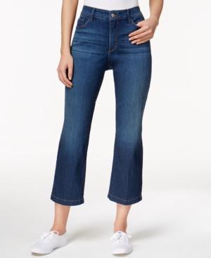 Nydj Sophia Atlanta Wash Flare-Leg Ankle Jeans