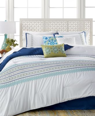 Lorna 7-Pc. Queen Comforter Set