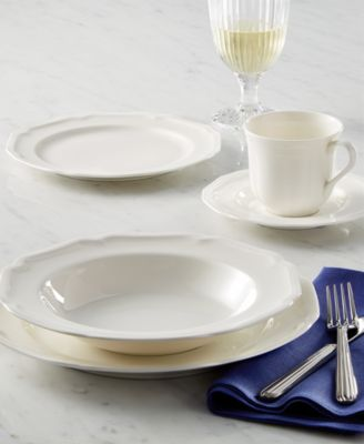 Dinnerware, Antique White 5 Piece Place Setting