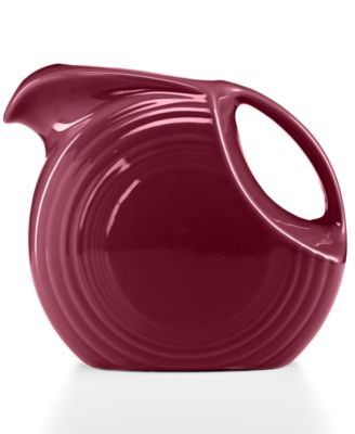 Fiesta Claret 67.75-oz. Large Disk Pitcher