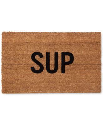 """Reed Wilson """"Sup"""" Doormat"""