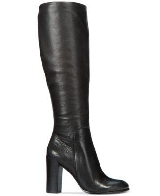 Justin Block-Heel Tall Boots