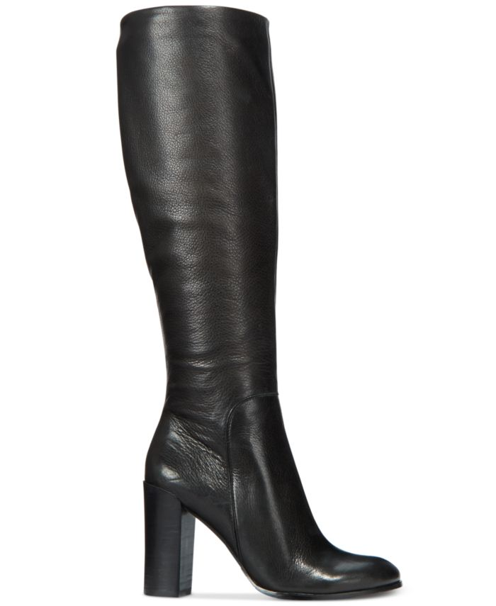 Kenneth Cole New York Women's Justin Block-Heel Tall Boots & Reviews - Boots - Shoes - Macy's