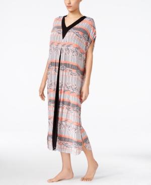 Ellen Tracy Contrast-Panel Caftan plus size,  plus size fashion plus size appare