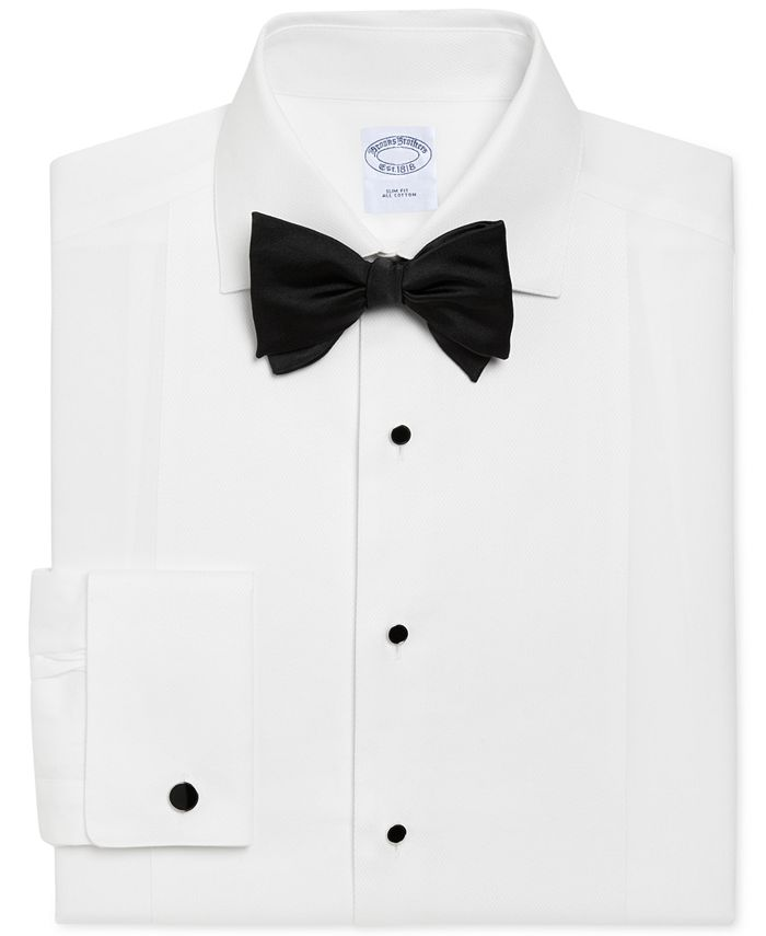 Brooks Brothers - Men's Regent Classic Fit Bib-Front Tuxedo Shirt