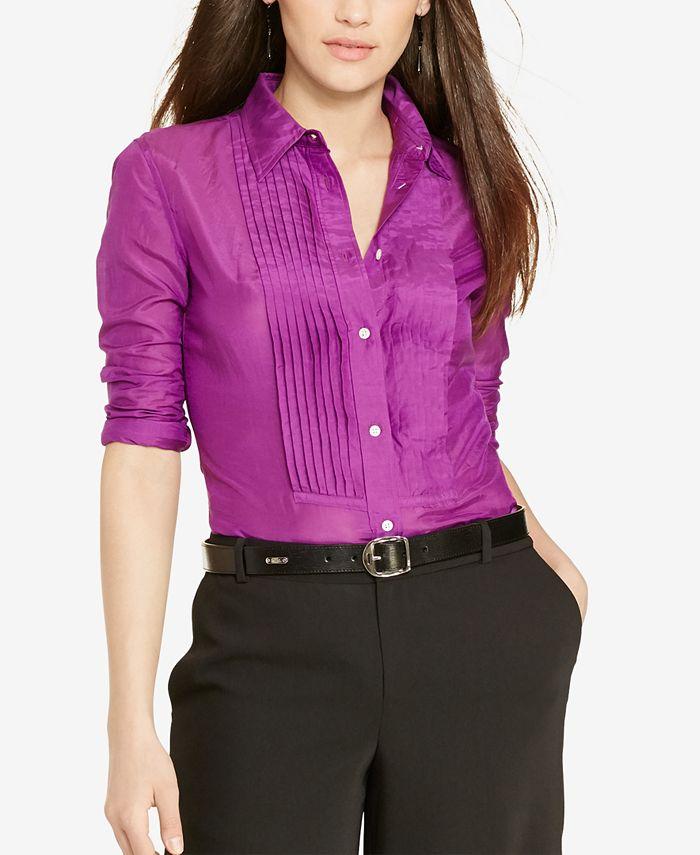 Lauren Ralph Lauren - Pintucked Shirt