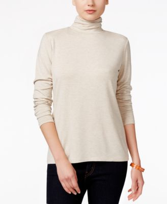 Image of Style & Co. Mock-Turtleneck Top, Only at Macy's