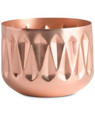 Illume Squat Metal Candle