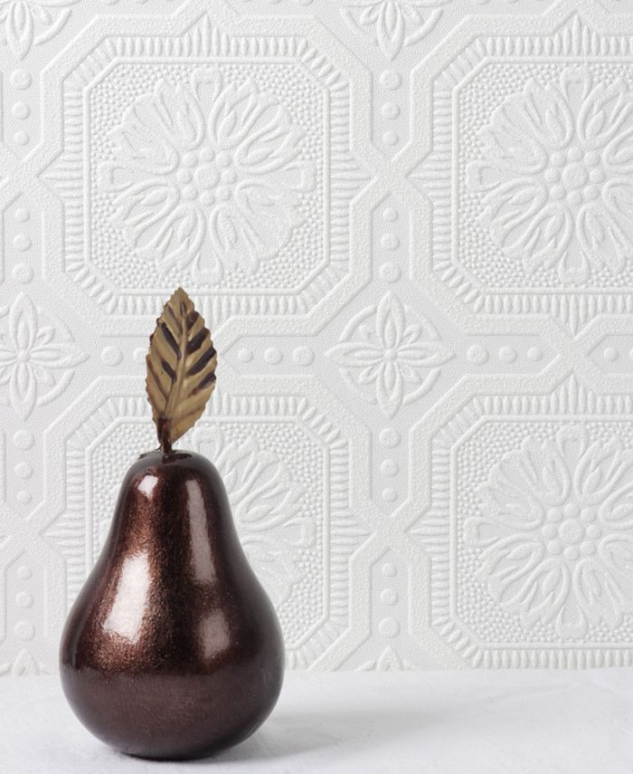 Graham & Brown - Small Squares Paintable Wallpaper