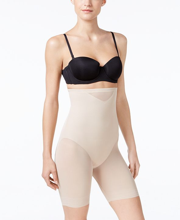 Miraclesuit Women's  Extra Firm Tummy-Control Sheer Trim Thigh Slimmer 2789