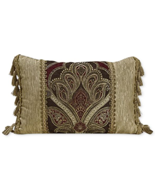 "Croscill Bradney 19"" x 13"" Boudoir Decorative Pillow"