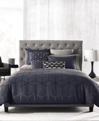 Hotel Collection Cubist Full/Queen Comforter, Only at Macy's