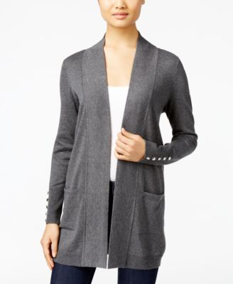 Image of JM Collection Open-Front Cardigan, Only at Macy's