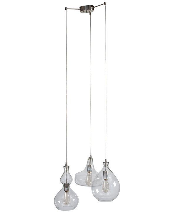 INK+IVY Firenze Glass Chandelier