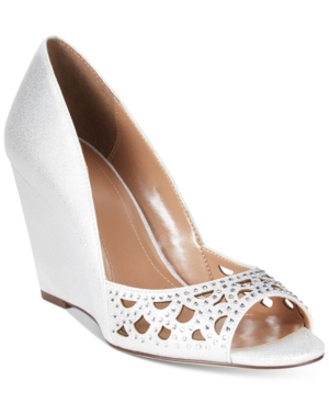 Style & Co. Cathiee Evening Wedge Pumps, Only at Macy's Women's Shoes