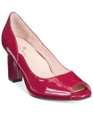 Tr Taryn Rose Francis Block-Heel Pumps Women's Shoes