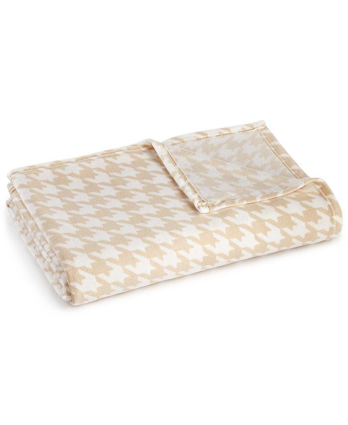 Martha Stewart Collection - Soft Fleece King Blanket