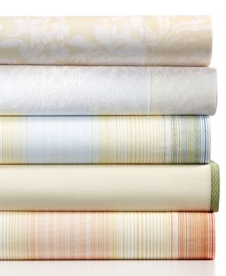 Tommy Bahama Home Heirloom Embroidery Queen Sheet Set