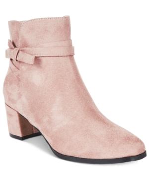 Impo Eman Block-Heel Booties Women's Shoes