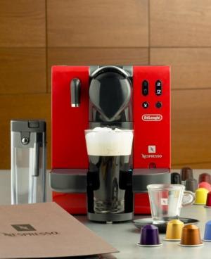 De'Longhi EN660.R Espresso Machine, Nespresso Lattissima