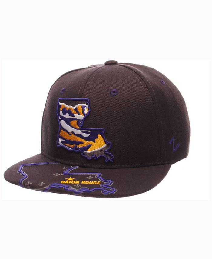 Zephyr - LSU Tigers Stateline Snapback Cap